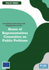Policy Brief: Increasing Awareness and Engagement of the House of Representatives Committee on Public Petitions