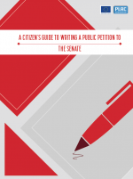 A Citizen's Guide to Writing a Petition to the Senate